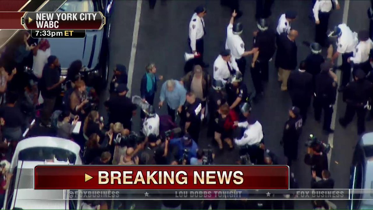 People in Union Square injured during 'peaceful protests'