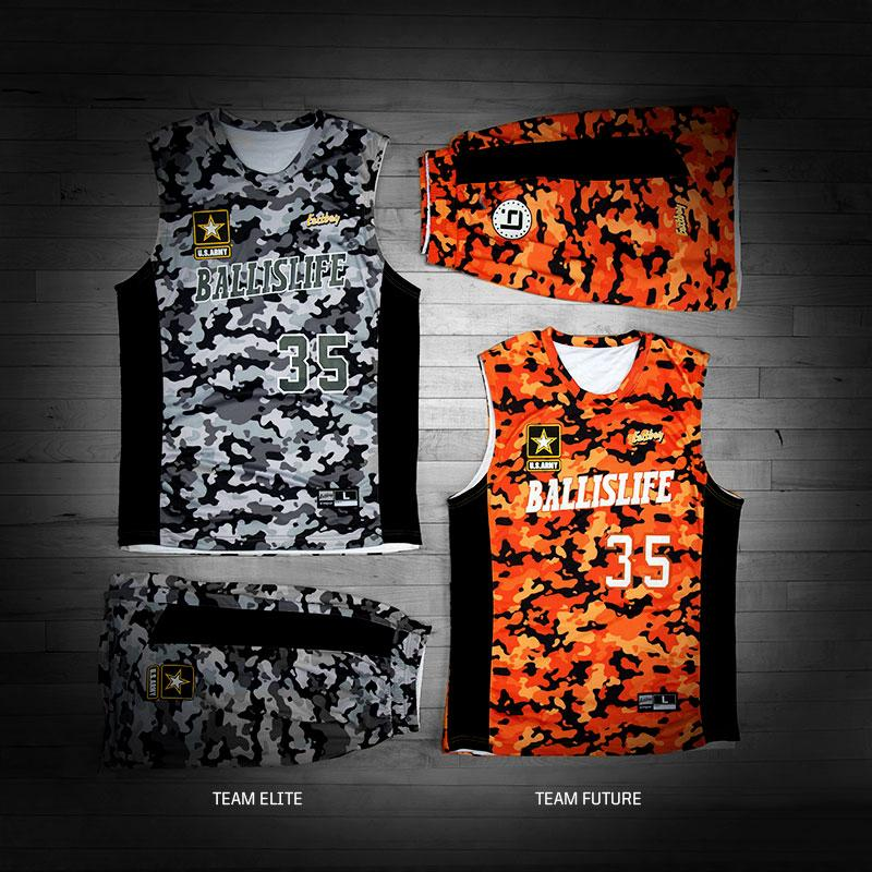 We made some sick uniforms for the  ballislife all-american game on  saturday. rt for team elite 4031e003c