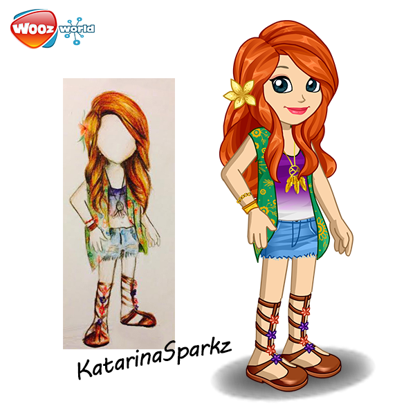 Here's the 2nd girl outfit by KaTaRiNaSpaRkZ! Beautiful for a nice spring day! http://t.co/x378YsfrqV
