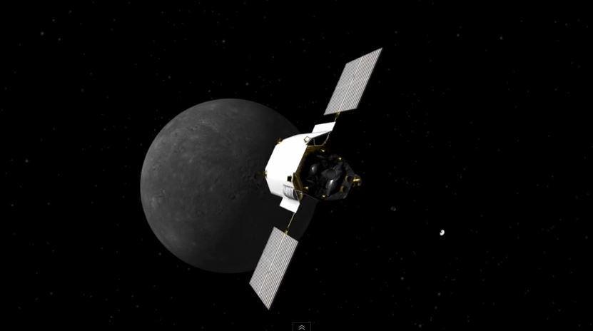 Le ultime ore di vita della sonda Messenger su Mercurio
