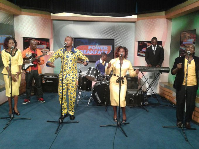 On the #powerbreakfast entertainment we feature the kamba