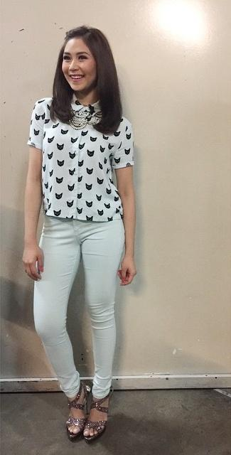 Zars on Twitter u0026quot;Coach @JustSarahG u0026#39;s outfit for The Voice Kids Blind Auditions ud83dude0a u00a9 # ...