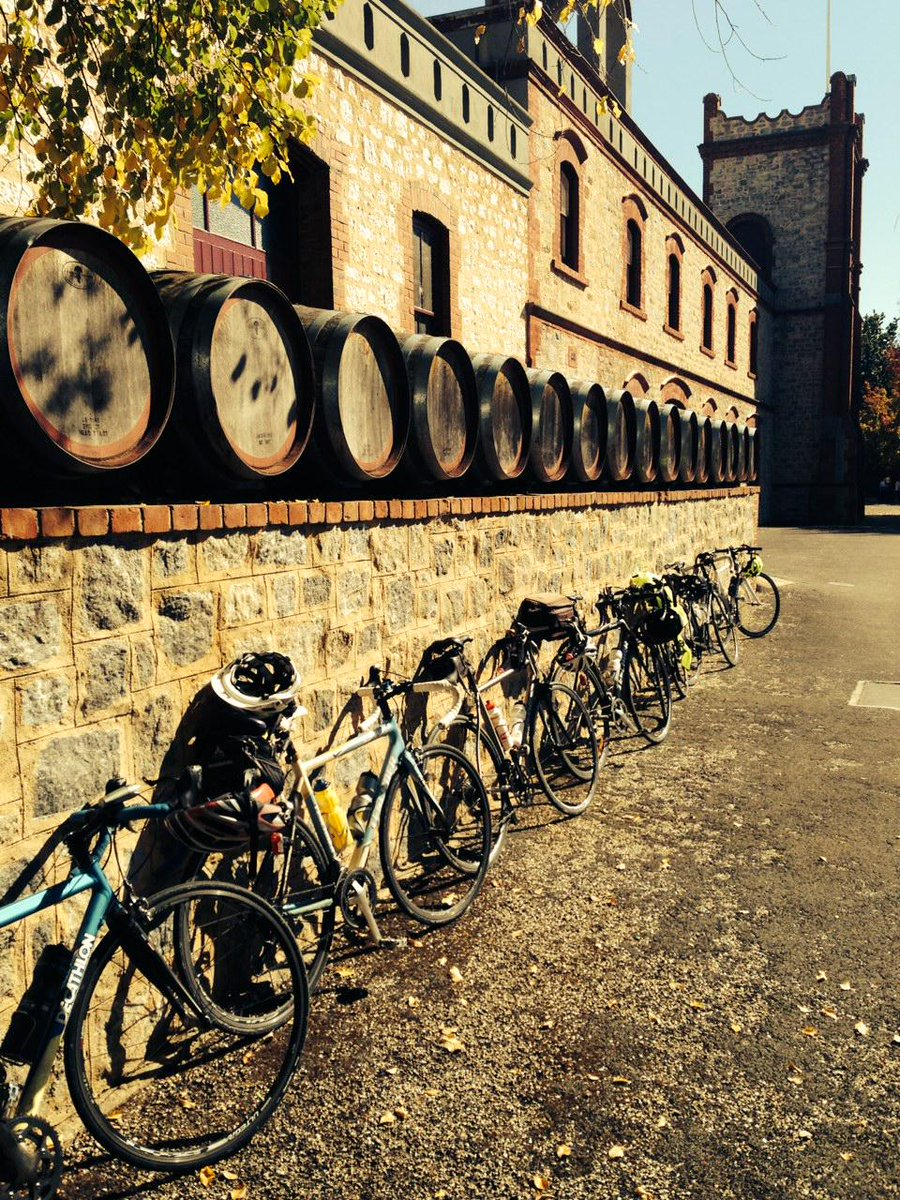 Fantastic day for a bike ride in the #barossa thanks for calling in. #wine #sunshine #relax http://t.co/es0MQRLpY4