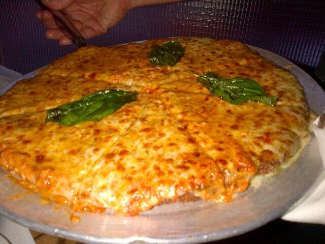The Legendary Chicken Parm Pizza At Quality Italian On 57th And 6th