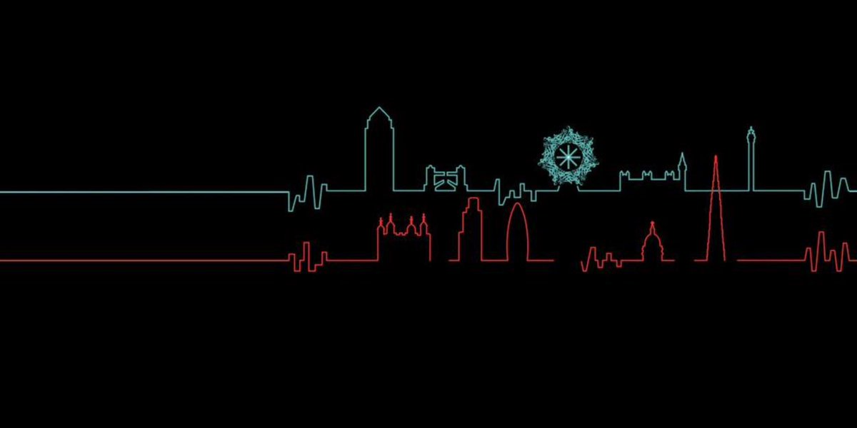 Clever wiggle-plot London skyline banner for @NanoporeConf/#NanoporeConf (wiggle plot = raw output from MinION) http://t.co/p2lVo6Av10