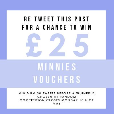 WIN £25 MINNIES VOUCHERS! Re tweet to win! http://t.co/eqxirjXK2W