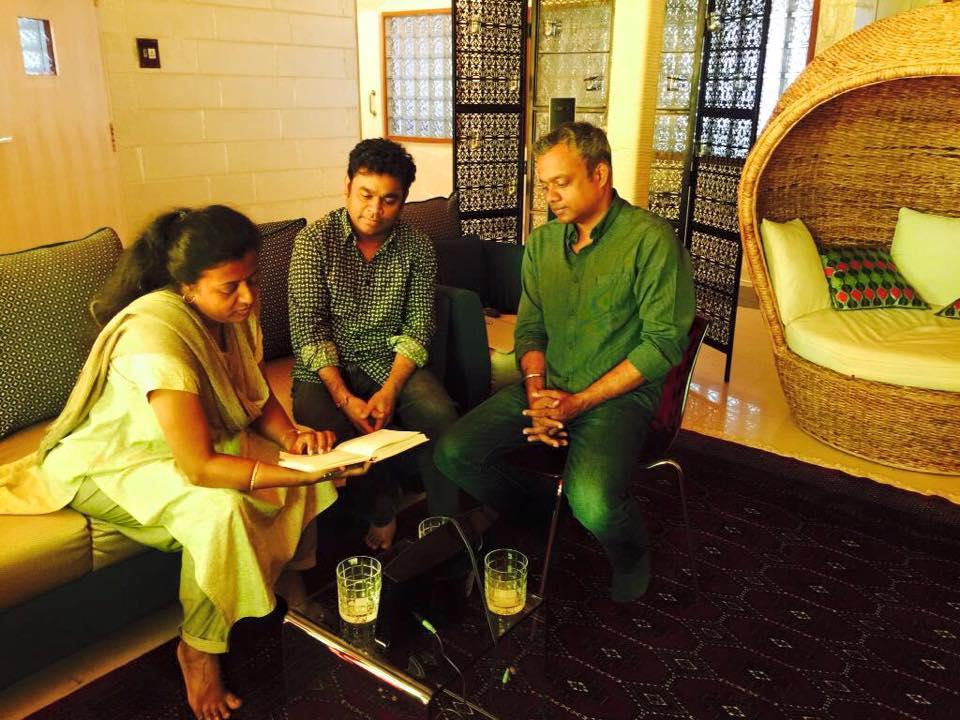 Rahman starts composing for Simbu-Gautham Menon film