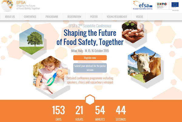 Only 2 days left to register for #EFSAExpo2015 scientific conference http://t.co/NNWD6v3upb http://t.co/RDi2UiXsNh