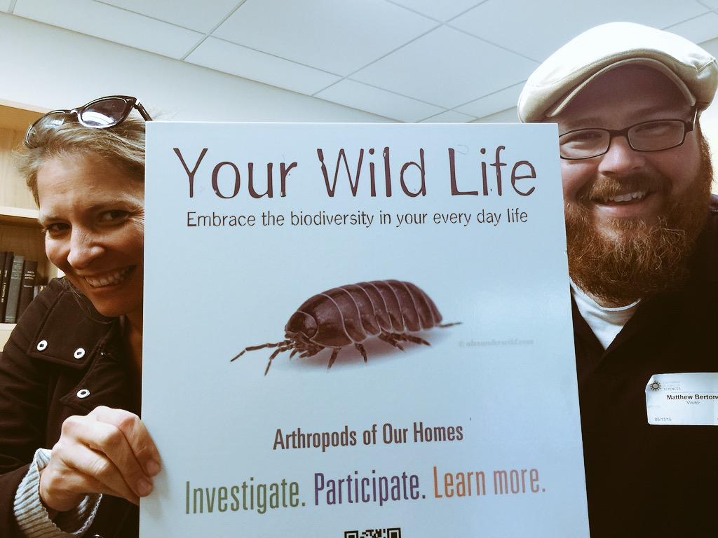 Basically this says- you can't get rid of all the bugs in your home, so learn to love them. Video coming soon. http://t.co/pG6xQkWDUA