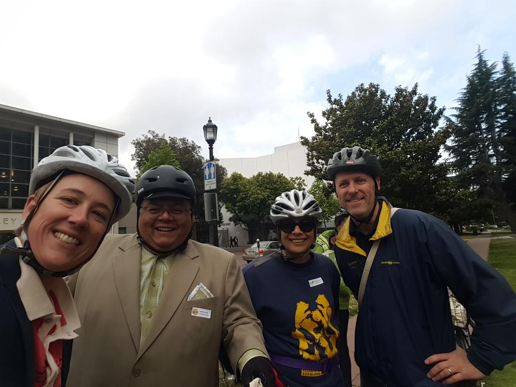 Thumbnail for Bike to Berkeley Day 2015!