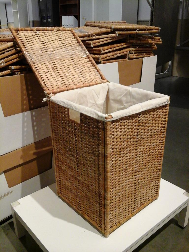 IKEA Stoughton on Twitter   BRANAS laundry basket with lining   15  reg    39 99   in AS IS today  http   t co oakd4Ru1AO. IKEA Stoughton on Twitter   BRANAS laundry basket with lining   15