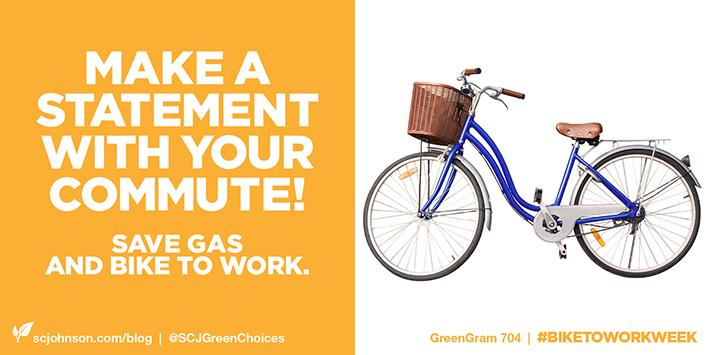 Get fit, get to work & save gas too! RT if you'd try biking to work. http://t.co/9gTOTWEwWS #GreenGrams http://t.co/UBHDRQTrDb