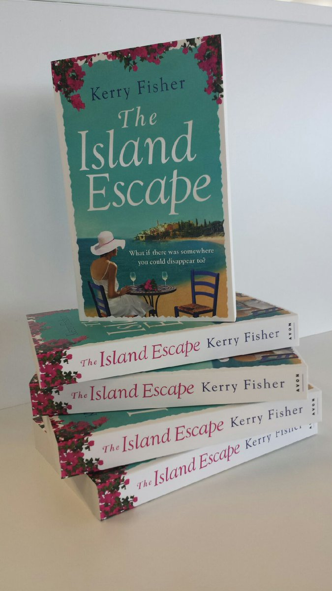 Love getting a book before it's published? RT to win @KerryFSwayne's THE ISLAND ESCAPE. 5 copies to giveaway! http://t.co/lb6DvThwR9