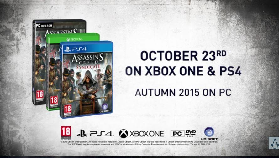 Assassin's Creed Syndicate chega em 23 de outubro CE0bHF3WEAAAHrH