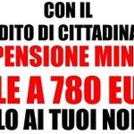 RT @collecolluso: Con il #RedditoDiCittadinanza #M5S la #pensione minima SALE a 780 euro <a href='http://t.co/60daVWcOJk' target='_blank'>http://t.co/60daVWcOJk</a>