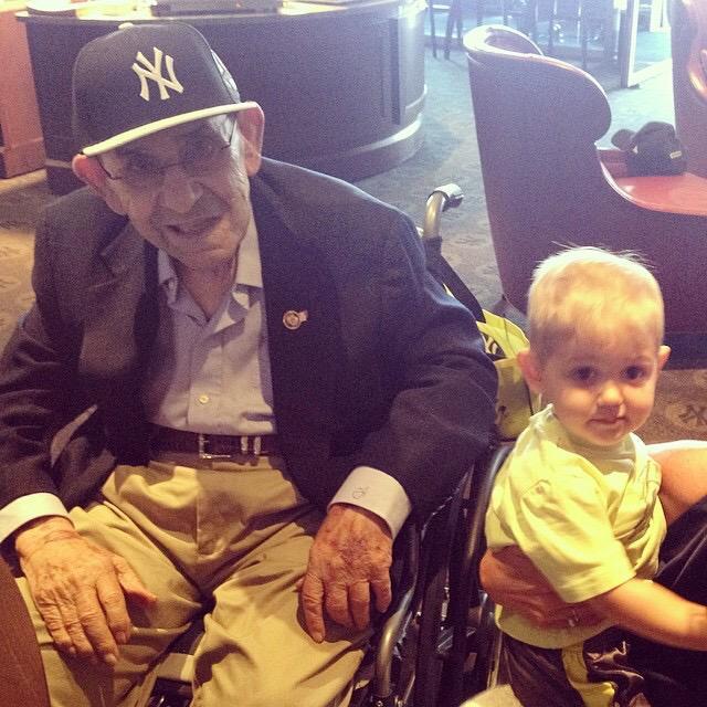 Happy 90th birthday Yogi!!! http://t.co/NzUTrDCVz8