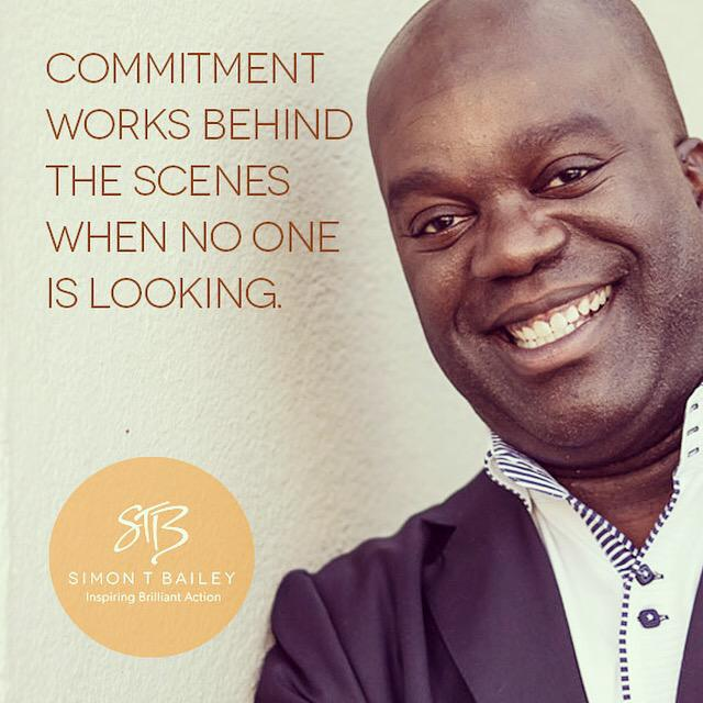 Commitment works behind the scenes when no one is looking? Are you committed? http://t.co/sOPc4AU4pr