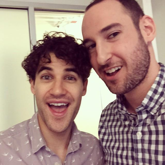 .@DarrenCriss talks to us about 'Glee,' 'Hedwig' and the men's grooming business @themotley http://t.co/SOOq3ls2ES http://t.co/UxJf9o95FE