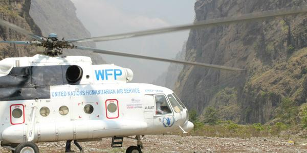 Another major earthquake hit #Nepal today. Help #WFP reach people in need. http://t.co/GoTxN7ePZa  #NepalQuake