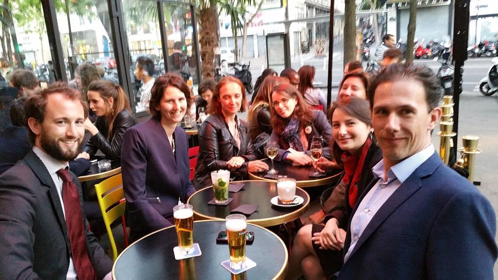 @AfjeAfje #AFJEInternationale Fin de réunion. . . autour d'un verre. http://t.co/DH3nV9271F