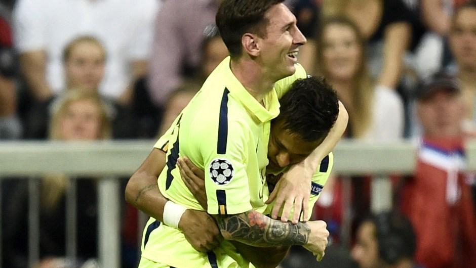 VIDEO Bayern Monaco-Barcellona 3-2, con Neyamr e' finale di Berlino
