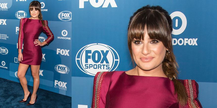 #lookoftheday is @msleamichele in @ZMURADofficial & @LouboutinWorld @FOXTV #ScreamQueens http://t.co/OSP3dx5RvB