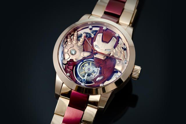 アイアンマン&キャプテンアメリカが手元で輝きを放つ高級腕時計 natalie.mu/eiga/news/1470… #アベンジャーズ pic.twitter.com/WmaAQX27WO