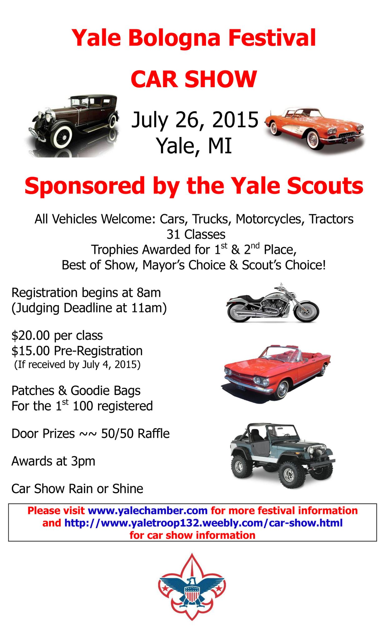 Yale Bologna Festival Car Show