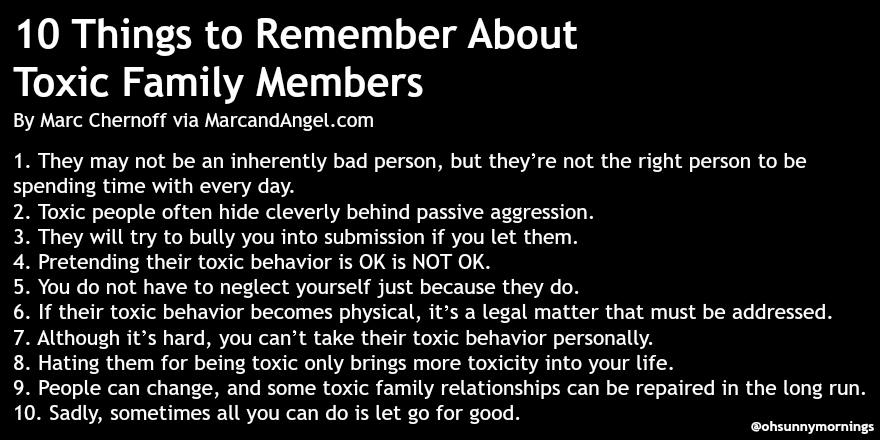 Sylvia on Twitter: 10 Things to Remember About #Toxic #