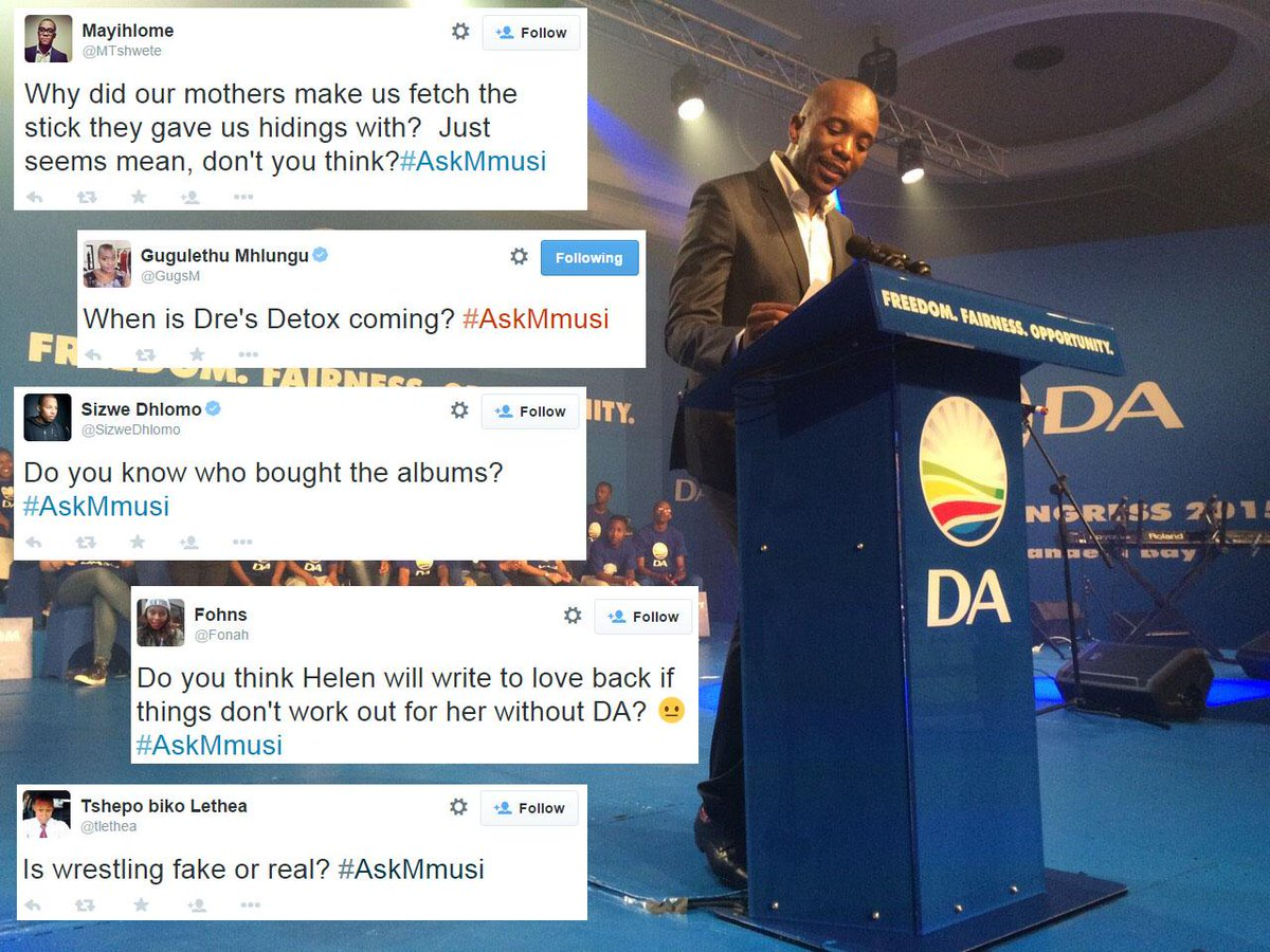 Twitter gets ungovernable during #AskMmusi: http://t.co/HTYDNJjiG9 http://t.co/3GDCe0UXbT