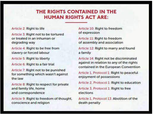 Here is the Human Rights Act. RT if you think it should be protected and not abolished http://t.co/Yhmt1uBwjp