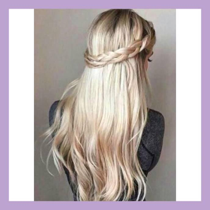 Lush hair extensions on twitter get this prom look with our lush hair extensions on twitter get this prom look with our colour 18613 and add a plaited halo promhair promhairstyles lushhairextensions pmusecretfo Choice Image