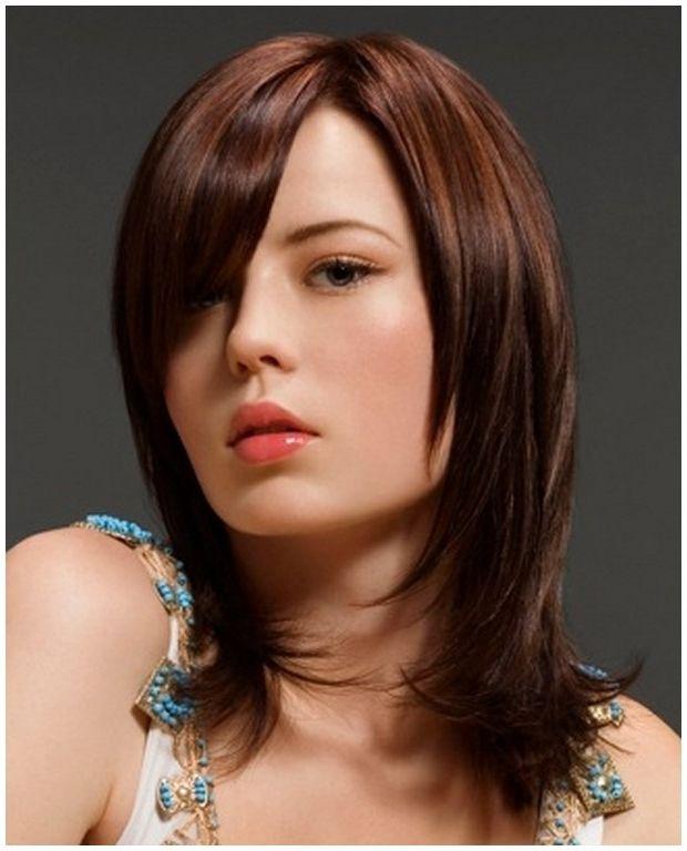 Imagenes de corte de cabello semi largo