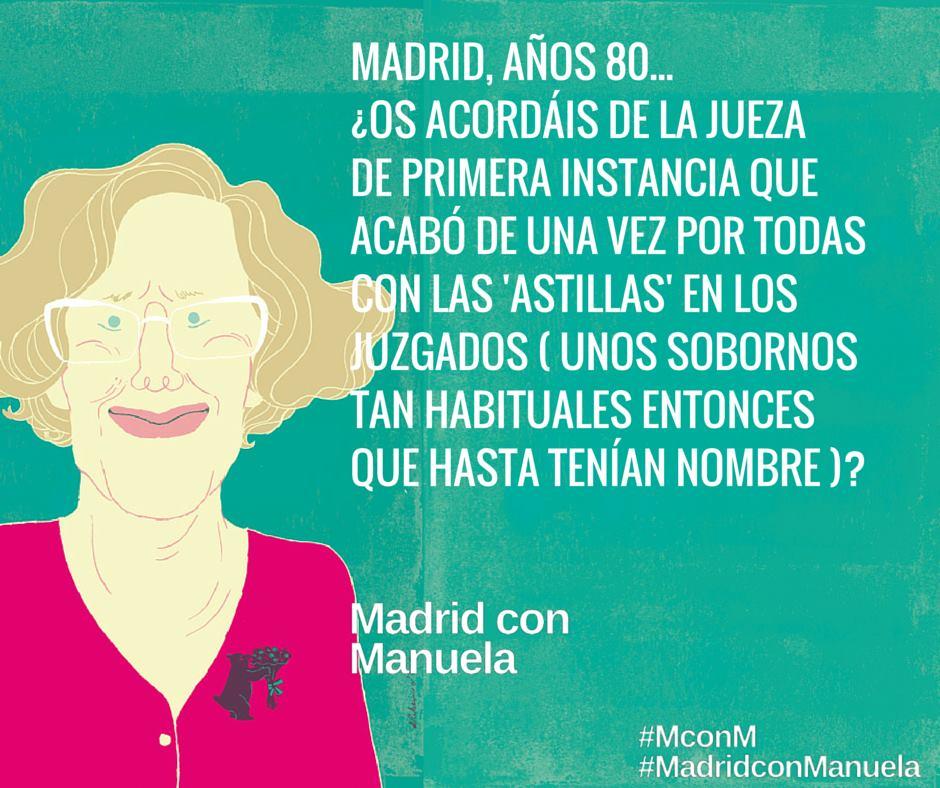 Contra las campañas de manipulación contra @ManuelaCarmena, nacen los #ManuelaFacts v  @madconmanuela #AhoraMadrid http://t.co/CJEP6NsQAE