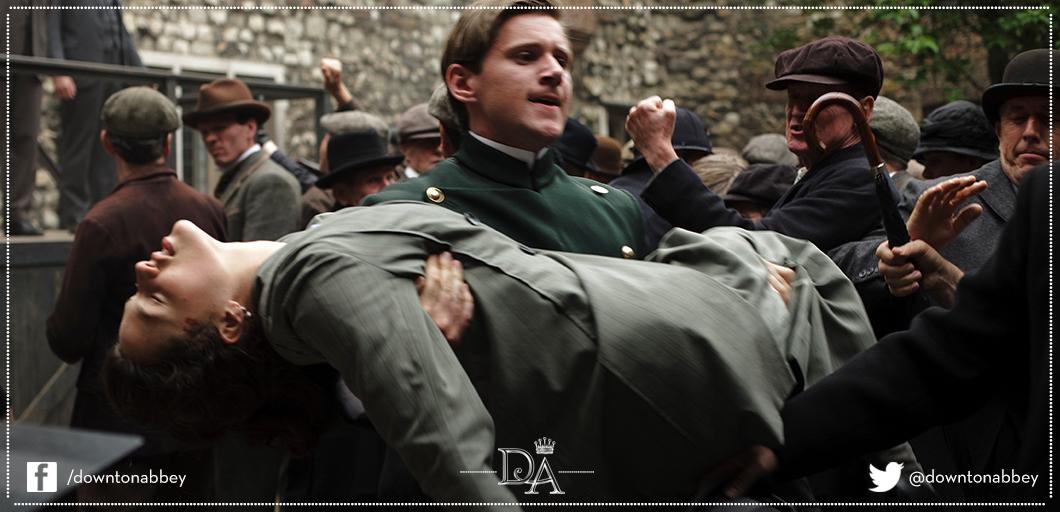 [心得] 唐頓莊園 Downton Abbey S01E06 (雷)