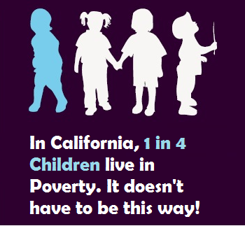 1 in 4 #California #children live in poverty. @JerryBrownGov, what will you do to #endpovertyCA? #cabudget @cdfca http://t.co/uTgSoGJwkU