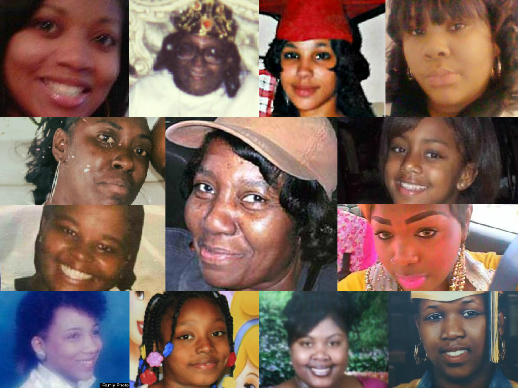 Here are a few of the faces--women killed by law enforcement. #sayhername  - https://t.co/c4GOlc8PSU  #BornSuspect https://t.co/LmE0OGb7Yl