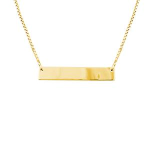 Follow & RT to win this @SparklingRings Solid Bar necklace (Can be engraved) #WinItWednesdays http://t.co/RqOef4wFdf