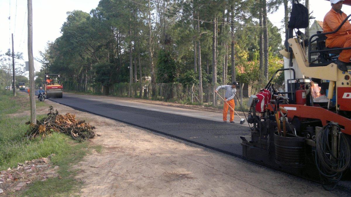 foto repavimentación ruta 43 santa ana