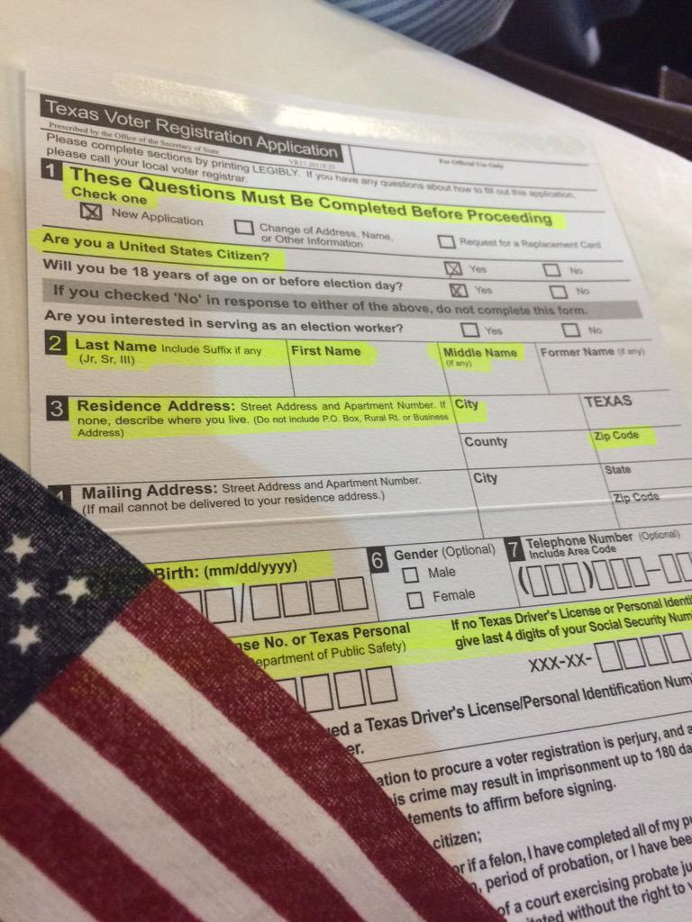 Hoy me registré para votar... y tu? #TNTweeters #USlatino http://t.co/0mYfPPaCKh
