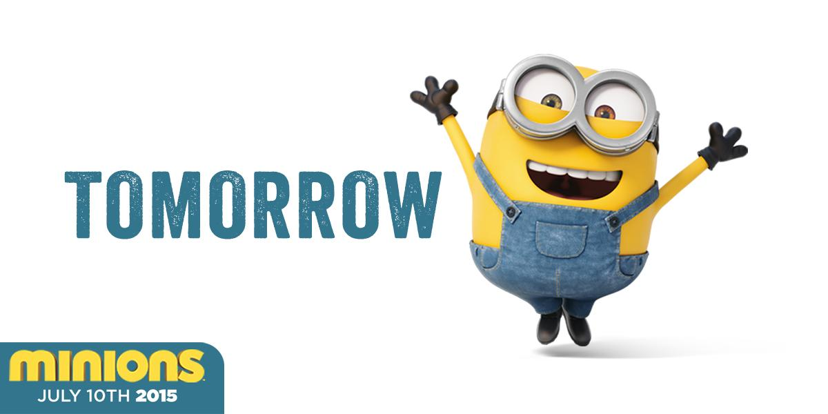 excited minions gif