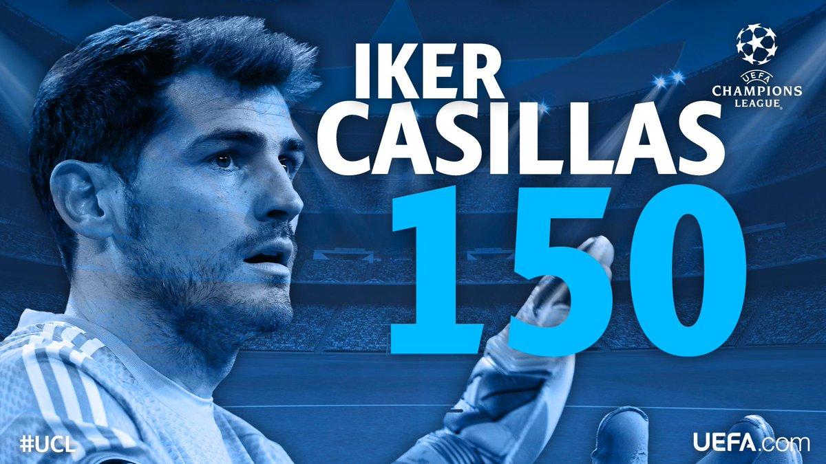 Касильяс проводит 150-й матч в Лиге Чемпионов - изображение 1