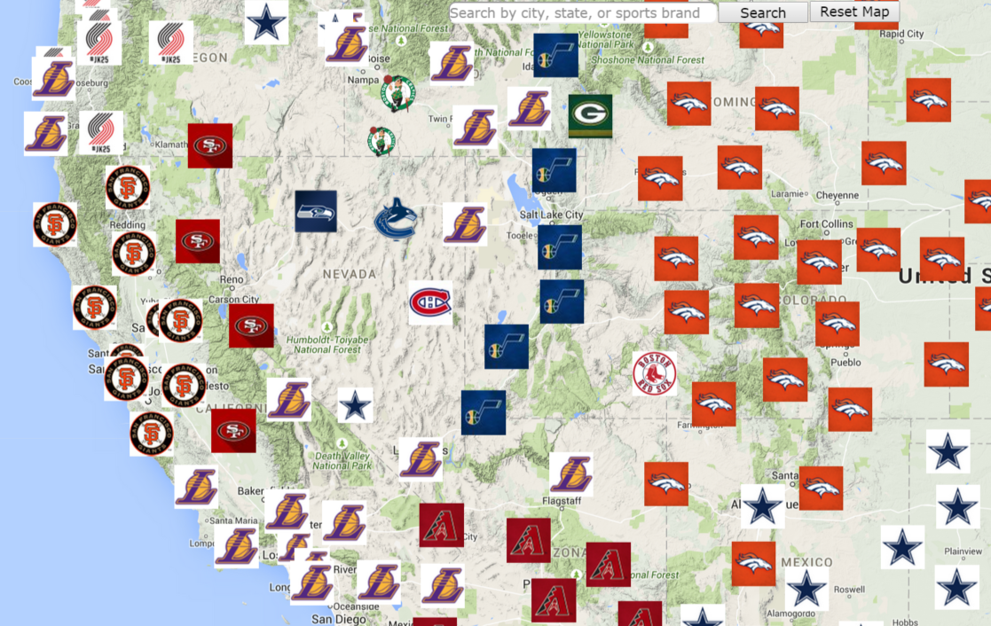 map of nba teams with 649926837422919680 on Duke Kentucky Hated College Basketball Hate Map together with TD Garden besides cast Inks Deal For Live In Market Streaming Of Fox Rsns in addition Cintas Center Cincinnati Oh moreover 2416605 Facebook Creates County By County Mlb Fandom Map For 2015 Season.