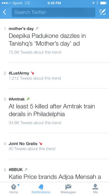Nice job @KendraLust. You are officially #trending. #LustArmy http://t.co/F2ShHaXycx