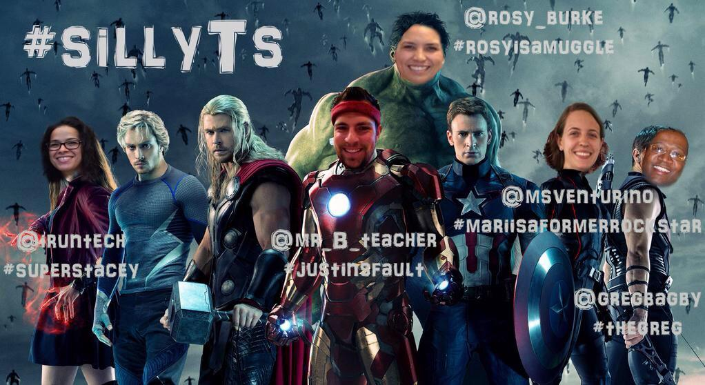 Hello all. Justin here. Member of #sillyTsassemble with @MsVenturino @rosy_burke @Gregbagby and @iruntech  #WeirdEd http://t.co/sp0oFZTLZc