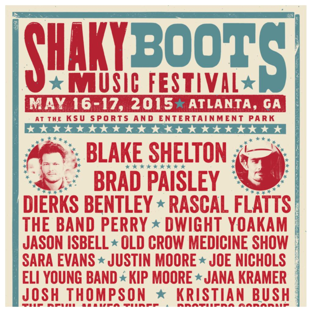 Break out the cowboy boots & hat because Big Tex is getting ready for @shakyboots this Sat & Sun! #CountryMusic #ATL http://t.co/CUxjWIzImI