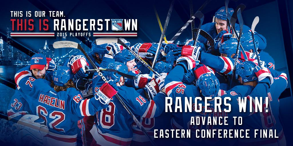 THE COMEBACK IS COMPLETE!!!! #NYR advance to the Eastern Conference Final!!!! #ChangeTheEnding http://t.co/KYC7Pda8t9