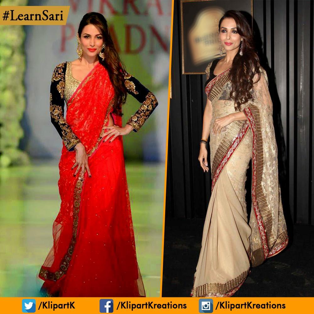 "Kalpana Shah On Twitter: ""Which #Sari Style Does @arora"