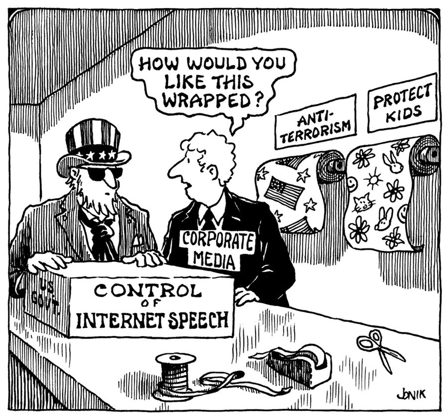 """""""How would you like this wrapped?"""" https://t.co/Le1g2VLkxr #Netfreedom @APC_News @IFEX http://t.co/hw6pozn9DD"""