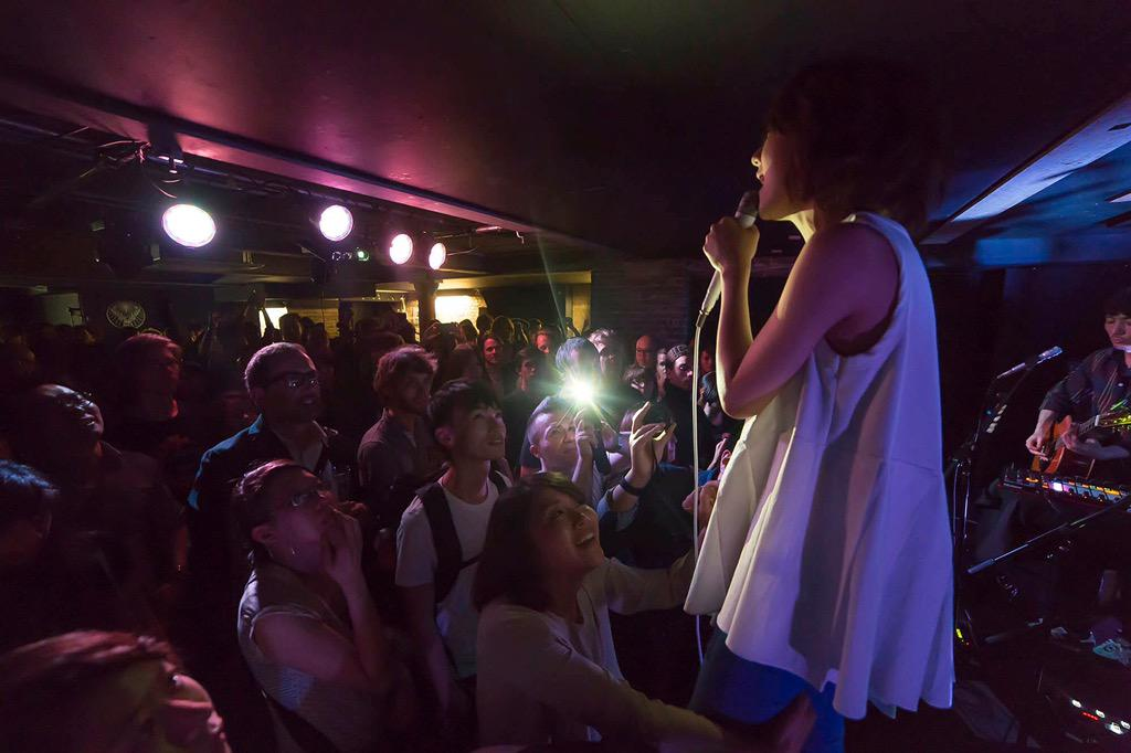 Fantastic night! Here's a beauty of a shot from @moumoon_staff's set, by Tomas Mascinskas (http://t.co/2WvXlfxsW9) http://t.co/6O40X17Nzp